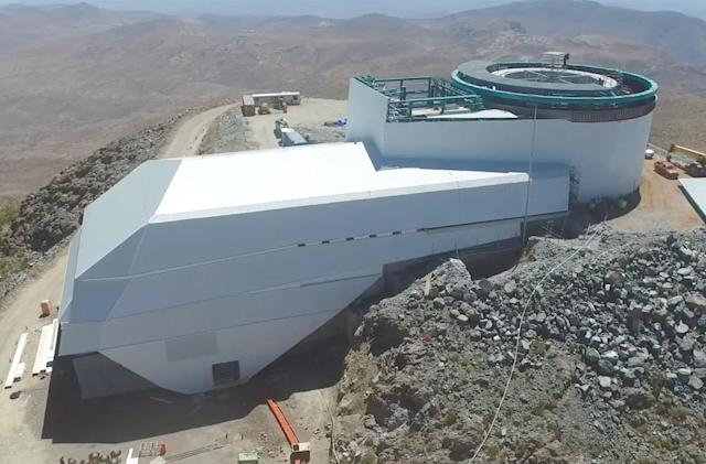 Video offers peek at ultra-wide Large Synoptic Survey Telescope