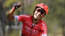 Quintana hit by car on training ride in Colombia