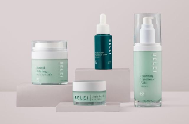 Amazon creates its own skincare line called Belei