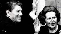 Thatcher docs show tension with old friend Reagan