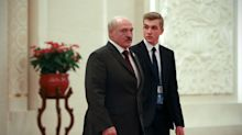 Alexander Lukashenko brings his 16-year-old son onto frontline as protests endanger succession plans