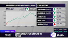 MARKETS: Break out the chip stocks—AMAT leading, NVDA sinking ahead of earnings