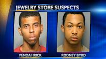 Jewelry store robbery suspects in custody