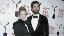Emily Blunt und Ehemann John Krasinski im Partner-Look auf dem Red Carpet