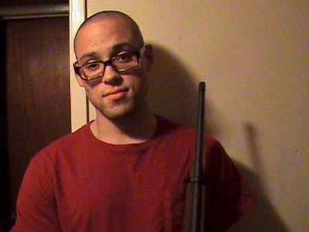 Oregon college shooting suspect Chris Harper-Mercer is seen in an undated photo taken from his Myspace account October 2, 2015. REUTERS/via Myspace account of Chris Harper-Mercer
