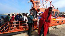 Más de 1.200 migrantes han sido rescatados en las costas andaluzas sólo este fin de semana