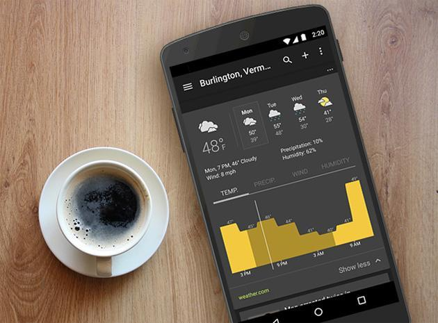 Google News and Weather adds search and prettier forecasts