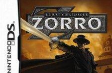 Zorro returns on DS: 'Z' drawing minigame a lock