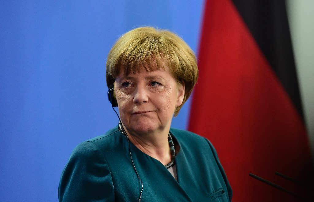 German Chancellor Angela Merkel has authorised criminal proceedings sought by Turkey against the comic Jan Boehmermann (AFP Photo/Tobias Schwarz)