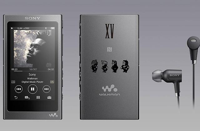 Sony made a Walkman for 'Final Fantasy XV' fans