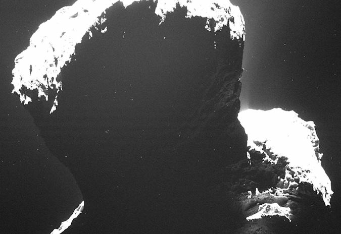 The dark side of Rosetta's comet is icier than expected