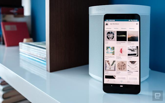Bandcamp with Sonos One