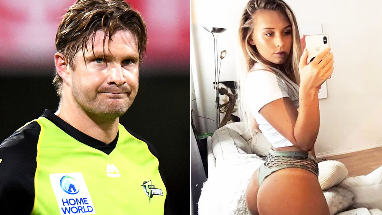 Shane Watson apologises after hackers post illicit pics on social media