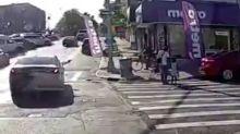 VIDEO - Un homme abattu en pleine rue à New York, sous les yeux de sa fille de 6 ans