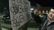 Friends Install Inspirational Signs Around Ontario to Raise Mental Health Awareness
