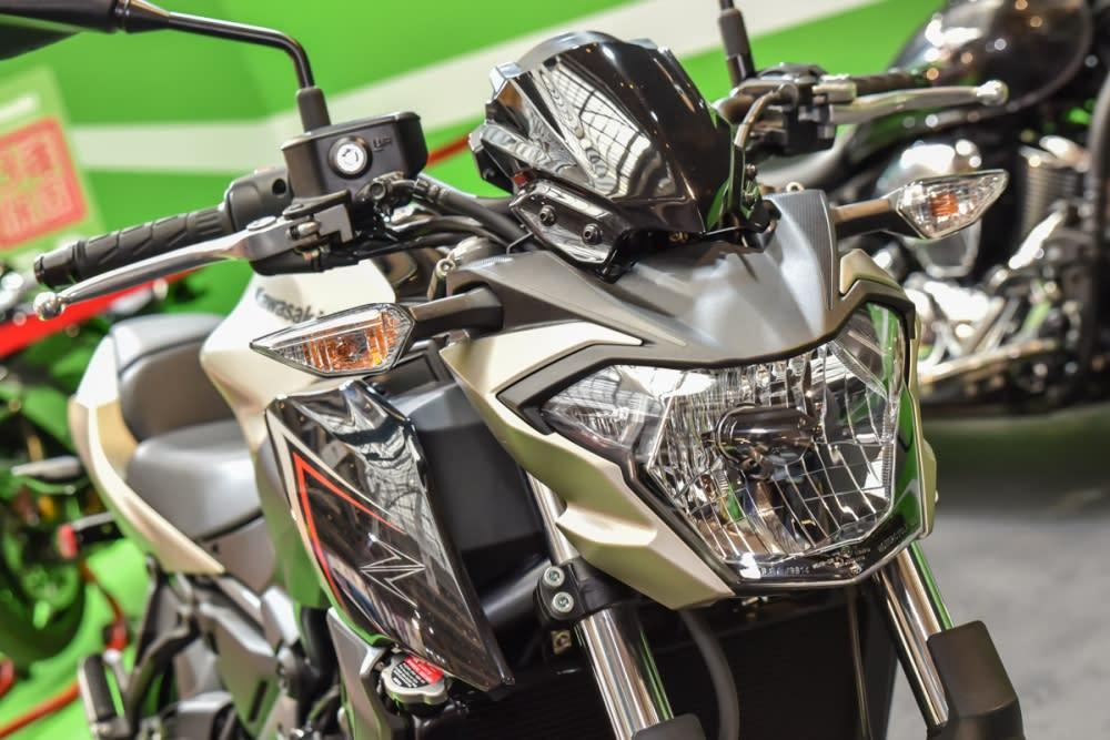 Z650 有著全新的造型設計。