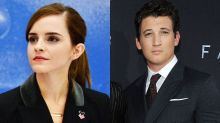 Emma Watson and Miles Teller said to be 'freaking out' after rejecting leads in Oscar-nominated La La Land