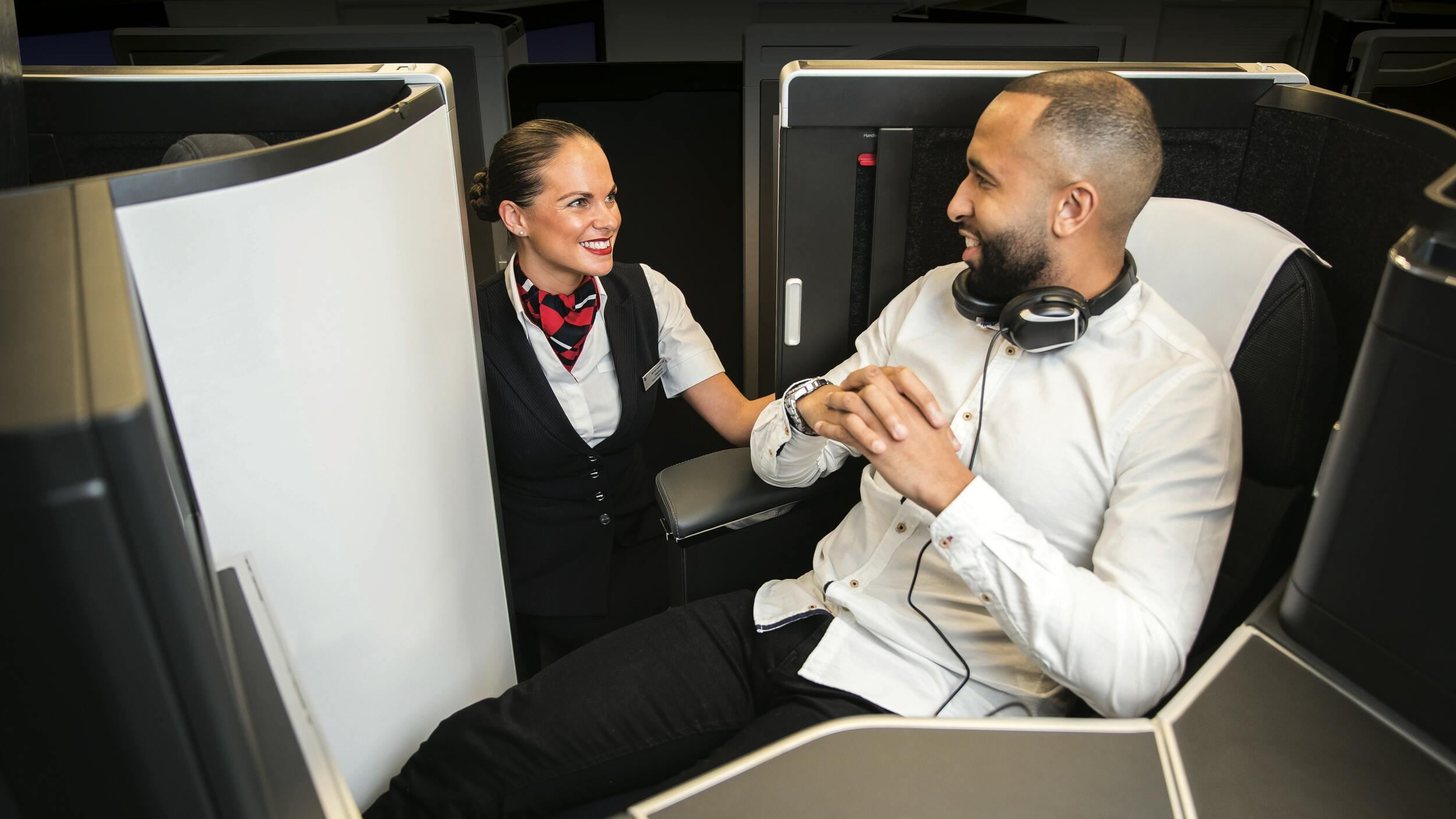 Club Suite will be used for long-haul flights from October 1.