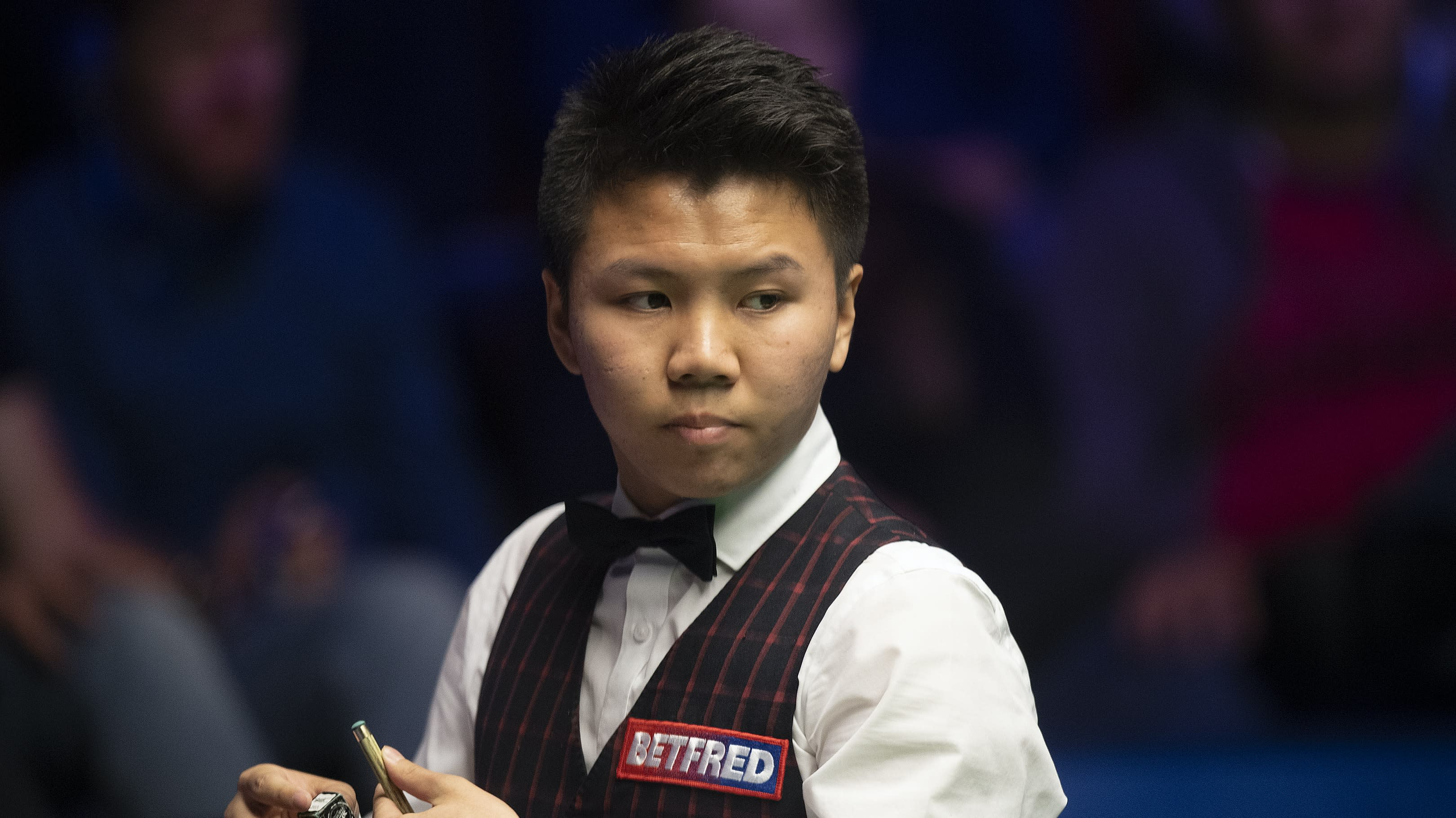 John Higgins talks up Zhou Yuelong after UK Championship defeat to youngster