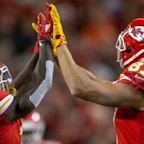 Chiefs' Tyreek Hill, Travis Kelce rank first and second in the NFL in receiving yards