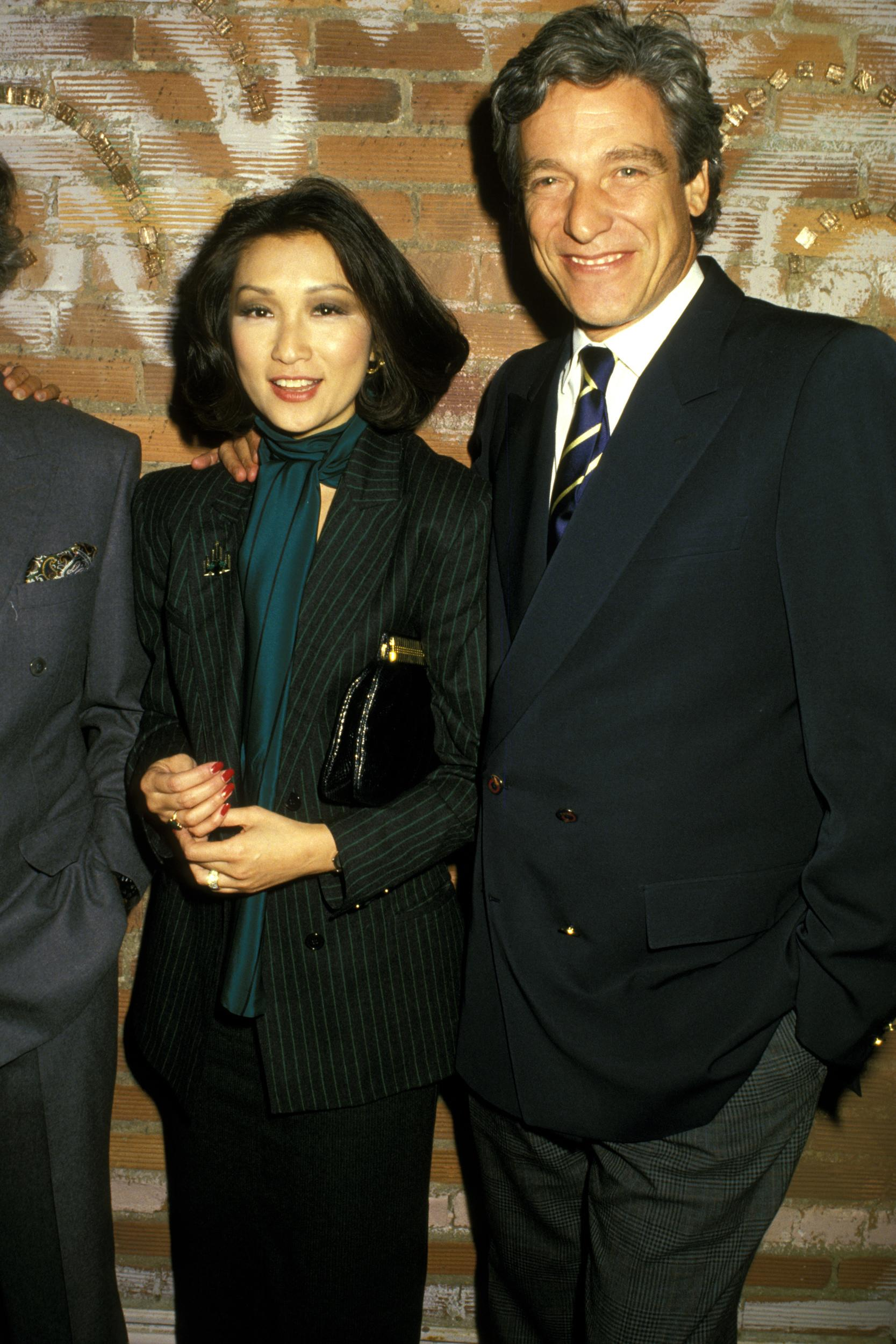 Connie Chung and Maury Povich during Chinese Orchestra at Lincoln Center in New York City, New York, United States. (Photo by Ron Galella/WireImage)