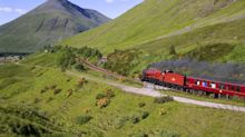 Family stranded in the Scottish Highlands rescued by Hogwarts Express