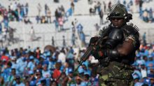 Malawi presidential bodyguard with heavy armour dubbed world's scariest