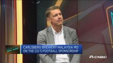 What's Carlsberg strategy for getting customers?