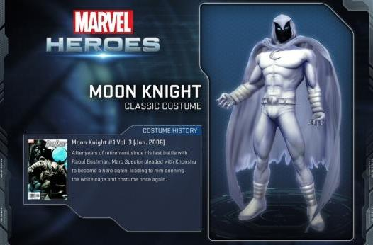 Moon Knight joins Marvel Heroes roster