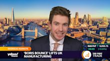 'Boris bounce' lifts UK manufacturing