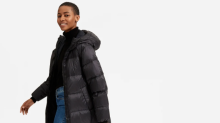 Everlane just launched a cruelty-free line of down coats—and they're so cozy
