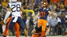 College Fantasy Football Kicker Draft rankings: Andre Szmyt leads
