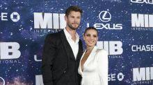 Elsa Pataky le roba el protagonismo a Chris Hemsworth en el estreno de 'MIB: International'