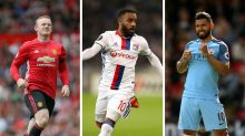 Gossip: Man Utd 'struggling to sell Rooney', PSG 'launch £60m Aguero bid', Arsenal 'close in on £44m Lacazette'