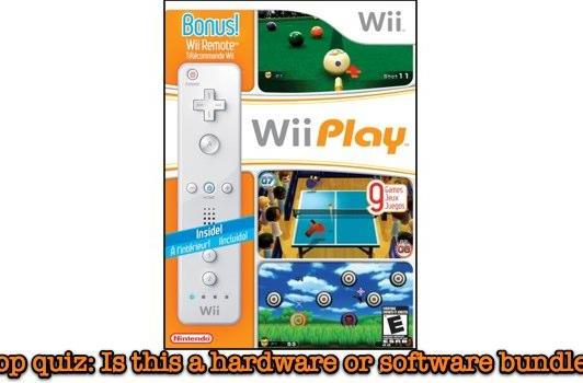 10 million accept Wii Play with Wiimote purchase