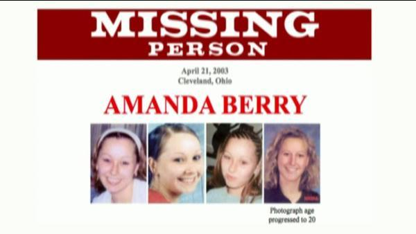 Amanda Berry found with other missing Ohio women after 10 years