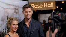 Las transparencias de Elsa Pataky eclipsan a Chris Hemsworth