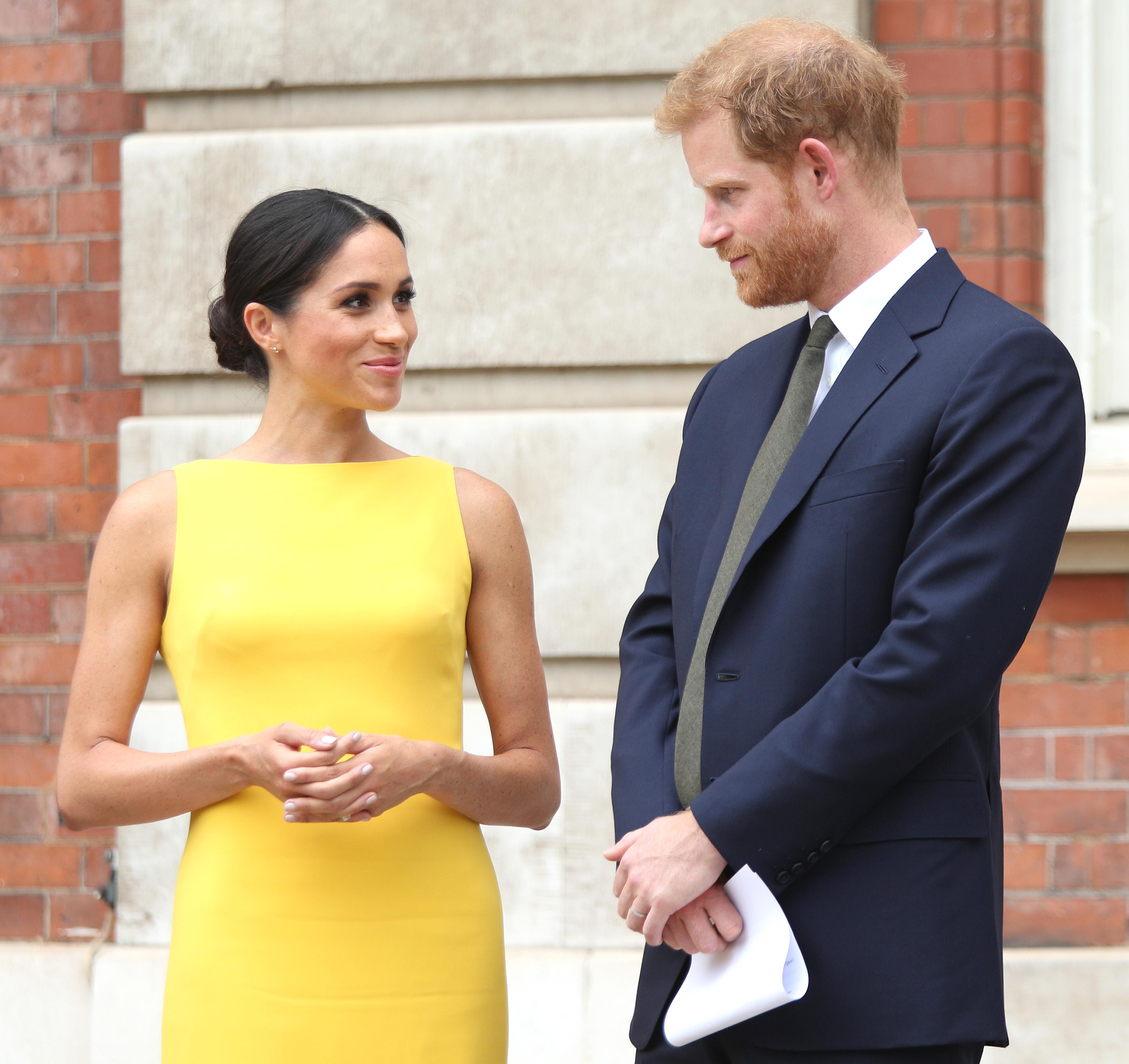 Here's What Meghan Markle And Prince Harry's Baby's Title