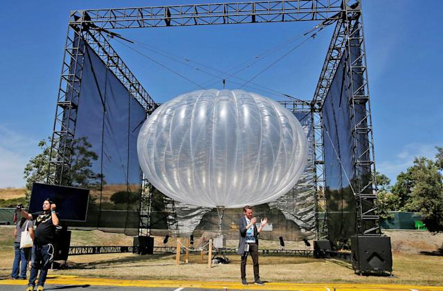 Alphabet's Loon internet balloons are making their way to Kenya