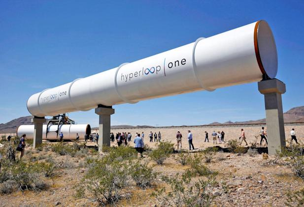 Hyperloop One claims its first successful test run