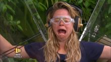 'I'm a Celeb': Watch Emily Atack freak out during 'X Factor' themed Bushtucker Trial