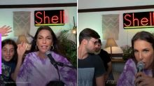 Ivete Sangalo canta com filho e marido em live surpresa