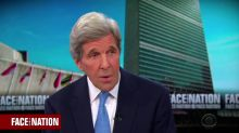 Kerry: Iran escalations due to Trump leaving nuclear deal