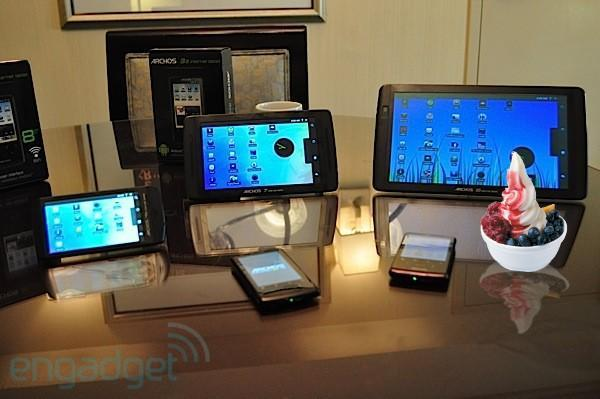 Archos Internet Tablets get firmware updates, everybody gets a Froyo