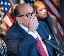 Rudy Giuliani has been suspended from practicing law in New York after a court found 'uncontroverted evidence' that he made 'demonstrably false and misleading statements' about the election
