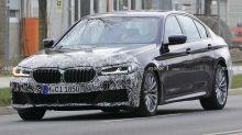 BMW 5er-Reihe (2020): Facelift mit neuen Leuchten erwischt