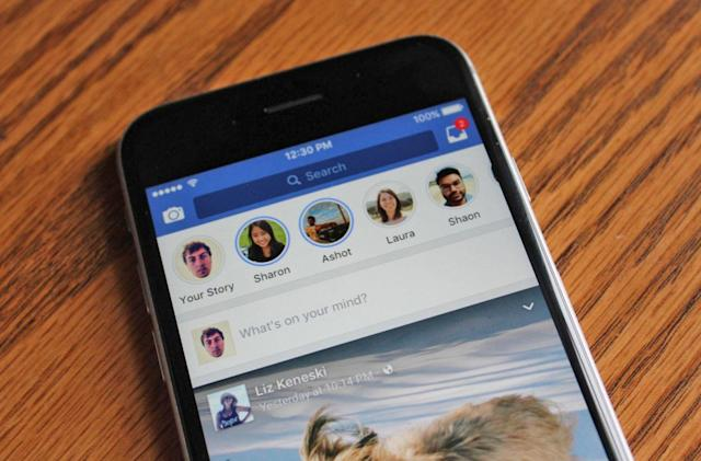 300 million people use Facebook Stories every day