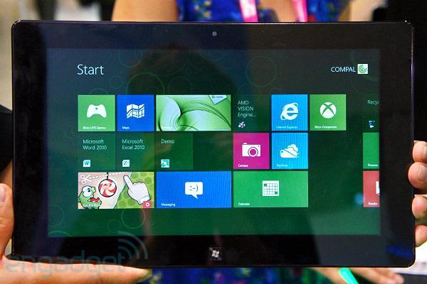AMD's Hondo tablet chip will happily run Windows 8 and Linux, but not Android