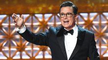 Emmys: Stephen Colbert's best monologue jokes
