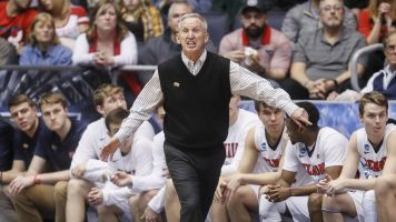 In 43rd year, coach earns first NCAA tourney win